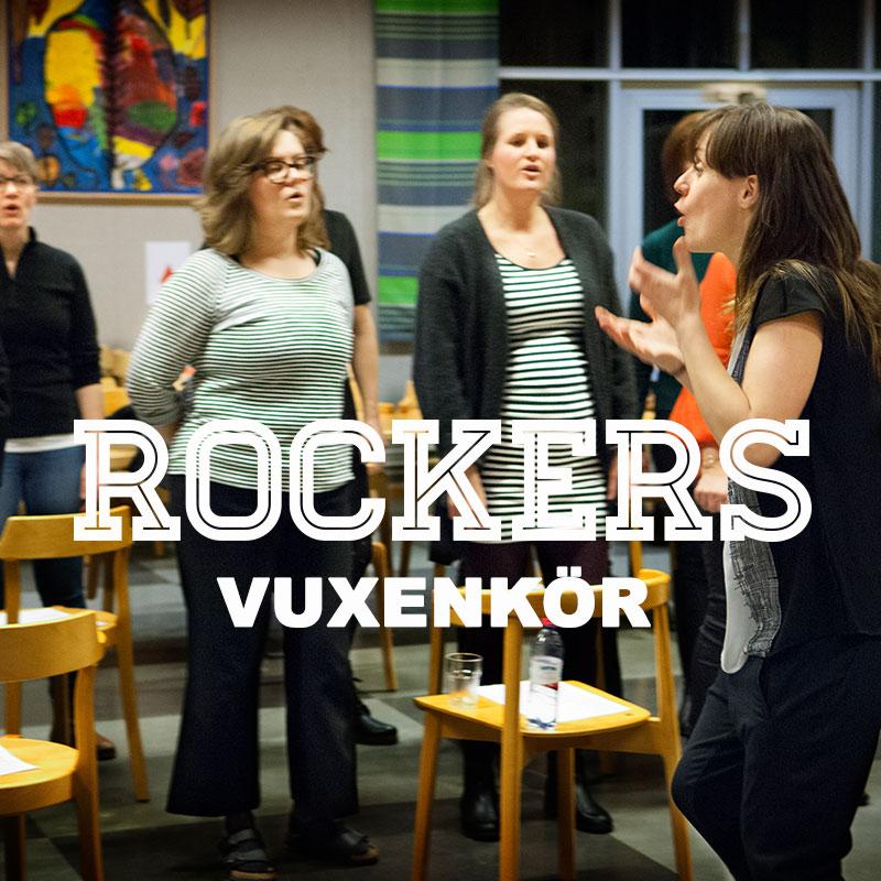 Rockers vuxenkör körsång